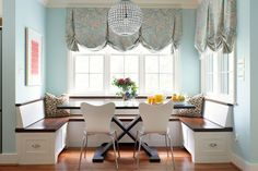 breakfast nook | Suellen Gregory Interior Design
