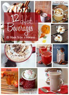 12 Hot Beverages