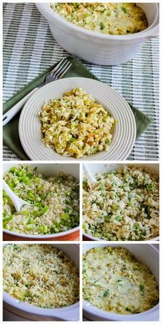 Spicy Slow Cooker Rice with Green Chiles, Green Onions, and Cheese from Kalyn's Kitchen makes a perfect no-fuss side dish for summer grilling, and using the slow cooker keeps the house cool.  [via Slow Cooker from Scratch] #SlowCooker #CrockPot #SummerSideDish