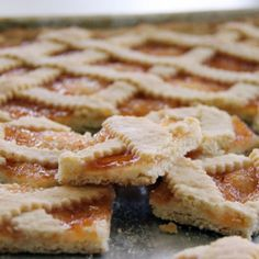 . Crostata with Jam Recipe from Grandmothers Kitchen.
