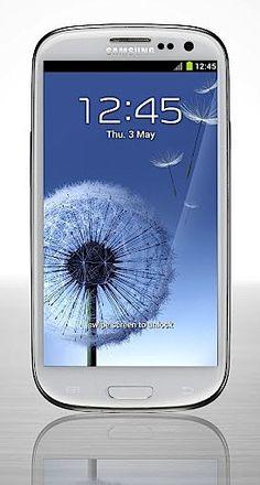 Samsung Galaxy S III  I want! <3