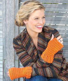 Wristers Made Easy Crochet Pattern  #crochet  #redheartyarns