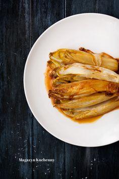 Chicory braised with honey