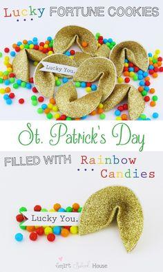 Lucky Golden Fortune Cookies