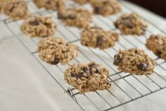 """Chocolate chip banana cookies - """"significantly less unhealthy"""" than a regular chocolate chip cookie"""
