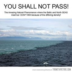 where the north and south baltic seas meet