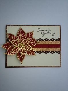 poinsettia, merri monday, holiday card, christma card, idea, christmaswint card, joy xmas, joy christma, paper crafts