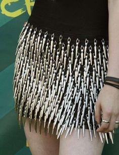 A Sharp Kristen Stewart in Rock & Republic Spike Dress  FUCKING BADASS!!! \µ/—>X) ☠☠☠
