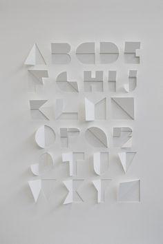 3D Type #typography