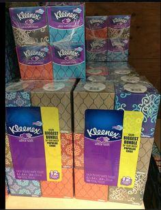 KLEENEX® Ultra Soft Tissues Cubes now at Sam's Club & with FREE Online Order Pickup #kleenex #samsclub #ad