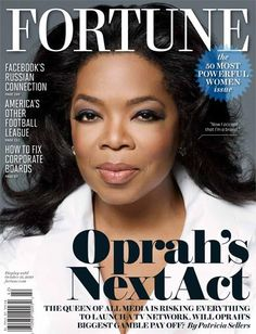 Oprah on the cover of Fortune Magazine - Sept 2010.