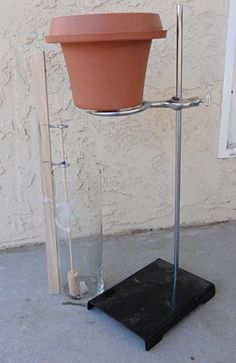 "Can you use water to tell time? In the ""Build a Water Clock to Show the Drip, Drip, Drip of Time"" #engineering #science project, students build a simple water clock that can track three hours of time. [Source: Science Buddies, http://www.sciencebuddies.org/science-fair-projects/project_ideas/ApMech_p047.shtml?from=Pinterest] #STEM #scienceproject"