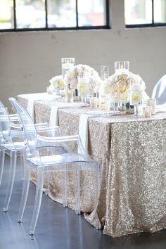 sparkle linens