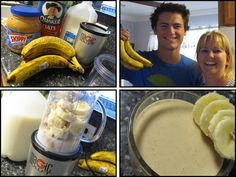 MOMS CRAZY COOKING: Peanut Butter Banana Oatmeal Smoothie {CRAZY COOKING CHALLENGE}