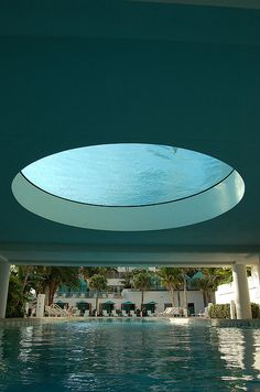 Upper pool with glass bottom | The Westin Diplomat Resort & Spa, Hollywood, Florida
