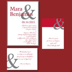 Occasions to Blog: 2013 Wedding Invitation Trends - Bold and Fun Fonts (Invitation Link - http://www.occasionsinprint.com/pinterest-board---2013-wedding-invitation-trends.html