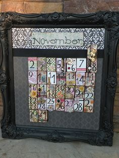 Seasons Of Joy: Magnetic Countdown Calender