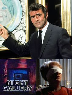 """""""Night Gallery"""" hosted by Rod Serling (1970-1973, NBC) - One of my favorite segments was part of a trilogy from the series pilot which aired on November 8, 1969. """"Eyes"""" stars Joan Crawford as a rich and heartless woman, blind from birth, who blackmails a surgeon into performing an unscrupulous operation with (in the Serling tradition) a shocking outcome."""
