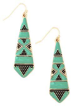 Drop a Mint Earrings