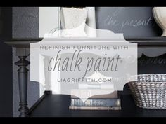 Video Tutorial on My Favorite Annie Sloan Chalk Paint Technique + Waxing | Lia Griffith
