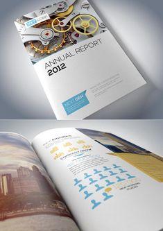 Corporate Brochure Designs 25 Inspiring Examples | Design | Graphic Design Junction