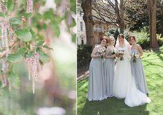 Blue and White Wedding Ideas - Powder Blue Bridesmaid Dresses | Amanda & Sam's Powder Blue & Pink Family-made Wedding