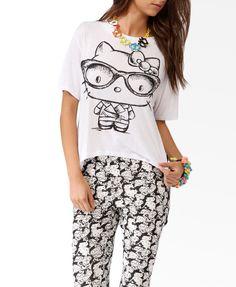 Spiked Hello Kitty® High-Low Tee #HelloKittyForever