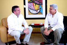 Walter Meade en entrevista con el periodísta bajacaliforniano Rodrígo Soto Aguilera.