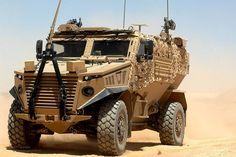 Foxhound Patrol Vehicle in Afghanistan