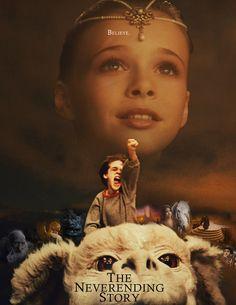 The Neverending Story. nanananana.   film, memori, remember this, the neverending story, old movies, book, neverend stori, favorit movi, kid
