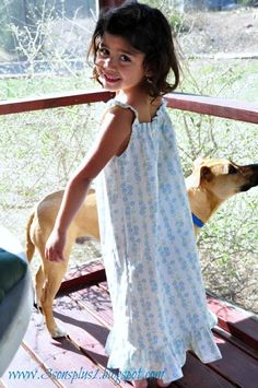 Super Cute Girly Girl: Tutorial #2 for a Little Girl's Summer Nightgown...with EASIER Angel Wing Straps!!