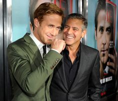 George Clooney and Ryan Gosling. Together. OMG. (Ides of March was excellent)