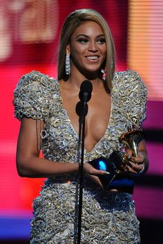 Beyoncé at the 52nd Annual GRAMMY Awards on Jan. 31 at Staples Center in Los Angeles