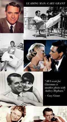 """""""Everybody wants to be Cary Grant. Even I want to be Cary Grant.""""   ~ Cary Grant"""