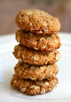 Five Ingredient peanut butter cookies. Gluten Free!