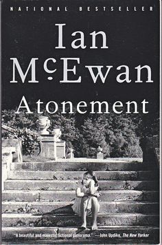 #UWBookMadness Atonement by Ian McEwan   Category: Union Jack   On a hot summer day in 1934, 13-year-old Briony Tallis witnesses a moment's flirtation between her older sister, Cecilia, and Robbie Turner, the son of a servant and Cecilia's childhood friend. But Briony's incomplete grasp of adult motives—together with her precocious literary gifts—brings about a crime that will change all their lives.