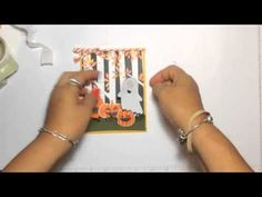 Love how she Pops the Ghost up! Stampin' Up! Video Tutorial Fun Fall Fest Halloween Card