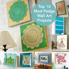 Top 10 Mod Podge Wall Art Ideas