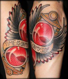 tattoo idea, sebastian domaschk, hourglass tattoo, ink inspir