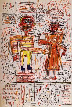 jean-michel basquiat artwork | Self-Portrait