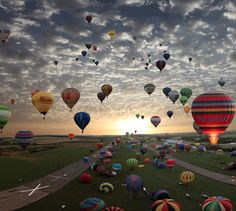 Travel by balloon