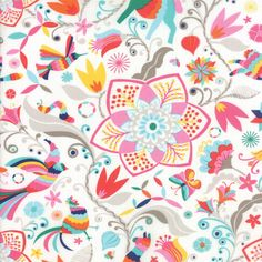 Moda Daydream Arcadia Scarlet Fabric Collection  Kate Spain for by StashModernFabric, $5.20