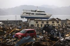 Japan tsunami, one year after