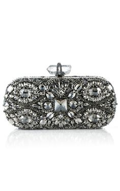 #Marchesa ~ Lily Embroidered Clutch