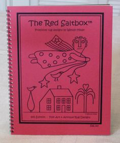 The Red Saltbox Rug Hooking Patterns by Wendy Miller
