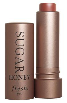 sugar tinted lip treatment / honey / fresh