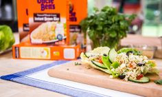 Home & Family - Recipes - @CristinaCooks - Tex Mex Salad Wraps | Hallmark Channel