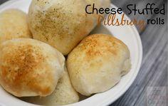 Super Bowl Recipe: Cheese Stuffed Pillsbury Rolls