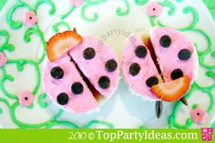 More ladybug sandwiches
