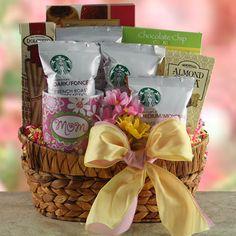 Starbucks for Mom  Mothers Day Gift Basket
